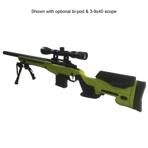 Action Army AAC T10 Airsoft Sniper Rifle 2-Tone | Free UK Delivery